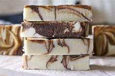 DIY Peppermint Mocha Soap