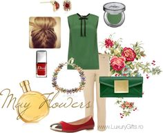 """May Flowers"" by diana-luxurygifts on Polyvore"