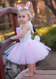 Mini Bunny Tutu Dress and Accessories - Easter: Kids' Bunny Accessories - Events