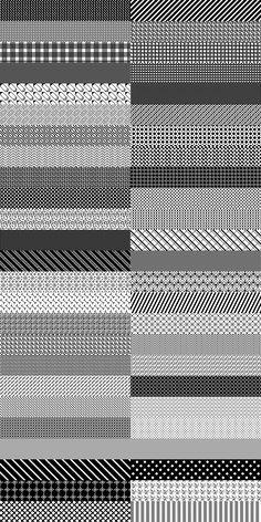 200 Photoshop patterns – Pixel patterns – Grafpedia