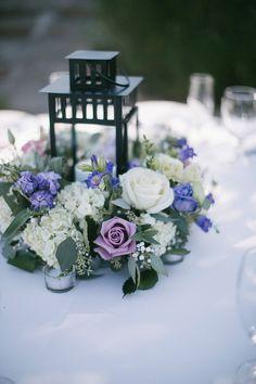 Breathtaking Bridal Bouquets is a full service luxury San Diego wedding and event florist offering. Lantern Centerpiece Wedding, Fall Wedding Decorations, Candle Centerpieces, Floral Centerpieces, Wedding Centerpieces, Centrepiece Ideas, Purple Wedding Cakes, Wedding Flowers, Purple Lantern