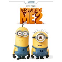 Despicable Me 2!!!! I want this movie!!!! :)