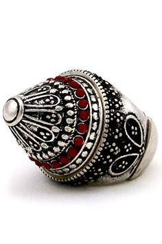 LARONJE   1001 Arabian Nights Dome Pyramid Ring   Online Store Powered by Storenvy