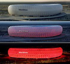 Allianz Arena stadium by Herzog and de Meuron
