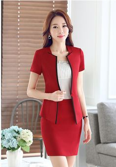 Overalls sets spring and autumn business suit for women Business Outfits, Business Attire, Office Outfits, Business Suits For Women, Business Formal, Office Wear, Office Fashion, Work Fashion, Asian Fashion