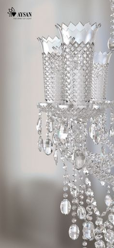 Spiral chandelier IDEA for with decorative crystal trimmings and ...