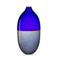 """LINO TAGLIAPIETRA (b. 1934) MARINA ANGELIN EFFETRE Incalmo glass vase from the Stone series, Murano, 1980s Etched Effetre Internationale, original Effetre and Made in Italy labels. 14 1/2"""" x 6 1/2"""" x 5"""""""