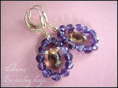 Ahyopyau earrings by Amaria on Etsy.