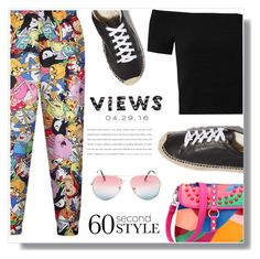 """Views!"" by wannanna ❤ liked on Polyvore featuring Alice + Olivia, Soludos, men's fashion, menswear, DRAKE, views and 60secondstyle"