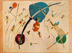 Kandinsky - Vers le bleu