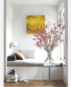#blooming, #branches loving the spring look right now.. a bit of inspirational pics of spring indoors