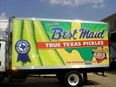 Best Maid pickles!