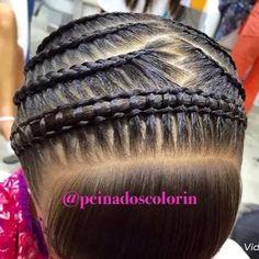 Natural Hair Care, Natural Hair Styles, Long Hair Styles, Little Girl Hairstyles, Pretty Hairstyles, Long Hair Designs, Ariel Hair, American Hairstyles, Braids For Kids
