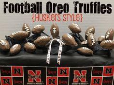 Football Oreo Truffles #UltimateTailgate #Fanatics