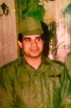 الرئيس السيسي وهو ظابط صغير في الجيش المصري ✌️