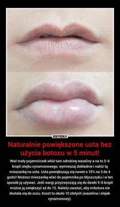 wez maly pojemniczek wloz tam odrobine wazeliny a na to 5 6 kropli olejku Beauty Care, Diy Beauty, Beauty Hacks, Face Care, Body Care, Skin Care, Makeup Life Hacks, Make Up Tricks, Homemade Cosmetics