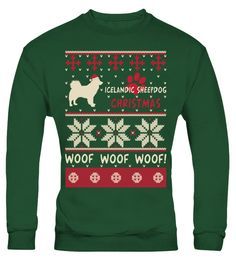 # Icelandic Sheepdog Christmas Woof Woof Shirt .  HOW TO ORDER:1. Select the style and color you want: 2. Click Reserve it now3. Select size and quantity4. Enter shipping and billing information5. Done! Simple as that!TIPS: Buy 2 or more to save shipping cost!Icelandic Sheepdog Christmas Woof Woof Shirt Hoodie Sweater  Sweatshirt Icelandic Sheepdog