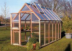 Sunshine GardenHouse, 6' Wide - Hobby Greenhouses $1,000-$3,000