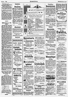 19.08.1901 Suomalainen no 94 - Sanomalehdet - Digitoidut aineistot - Kansalliskirjasto Words, Horse