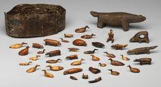 Inuit walrus ivory and bone amulets, c. Inuit Kunst, Inuit Art, American Indian Art, Native American Art, Pictures Of America, Inuit People, Art Premier, Bone Carving, Native Art
