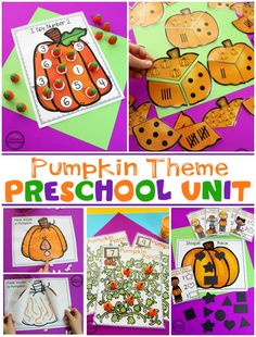 Have you seen these adorable Pumpkin Preschool Activities? Excellent Letter and Number Practice with all of the fall fun of pumpkins. Preschool Name Crafts, Preschool Memory Book, Fall Preschool, Letter A Crafts, Preschool Classroom, Classroom Ideas, Preschool Learning Activities, Preschool Themes, Counting Activities