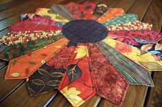 Your place to buy and sell all things handmade Dresden Quilt, Dresden Plate, Photo Candles, Plate Design, Thanksgiving Table, Table Toppers, Fall Harvest, Fall Season, Hostess Gifts