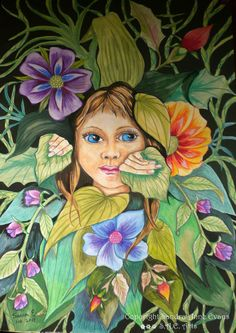 Hide and Seek Places To Visit, My Arts, Behance, Gallery, Drawings, Evans, Artwork, Flowers, Projects