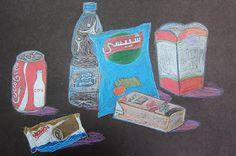 Upper School Art (Grades 7-12): Junk Food Still Life High School