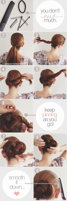 Hair Tutorial #brown