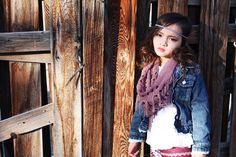 Girl model boho Cutesy frame photography