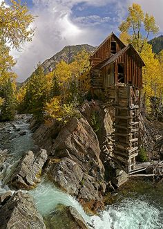 Crystal Mill, Colorado. I want to go see this place one day. Please check out my website thanks. www.photopix.co.nz