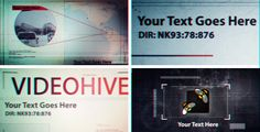 After Effects Project Files - Classified | VideoHive