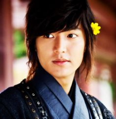 Faith ♥ The Great Doctor ♥ Lee Min Ho as Choi Young  <3!!!! he looks so awesome witha  flower in his hair. ^^