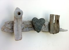 """""""i heart u"""" Driftwood Art by Mother Nature. Handmade by Doctor Driftwood. Made out of """"all natural"""" handpicked driftwood and stones """"reclaimed"""" from California. """"Where Nature and Style Meet."""" Follow me at Facebook/DoctorDriftwood and Pinterest/DoctorDriftwood. Look for me on Flickr/DoctorDriftwood. Visit DoctorDriftwood.com for sales, more info, and harmony. Enjoy Nature in your home. Cheers!"""