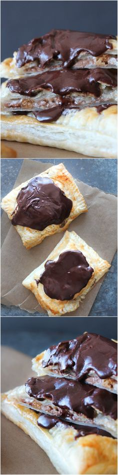 Homemade S'mores Poptarts - Homemade Pop-tarts - Chocolate and Marshmallow Pop-tarts