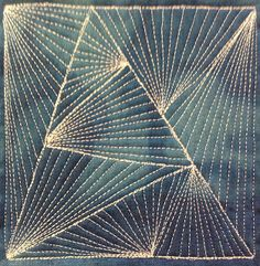 The Free Motion Quilting Project: 75. Free Motion Quilting Modern Weave, #417