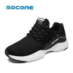 2017 new men and women can wear sports shoes black / gray mesh shoes summer tennis shoes light comfortable training shoe