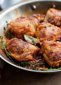 Low FODMAP Recipe and Gluten Free Recipe - Red wine and orange chicken   http://www.ibs-health.com/low_fodmap_red_wine_orange_chicken.html