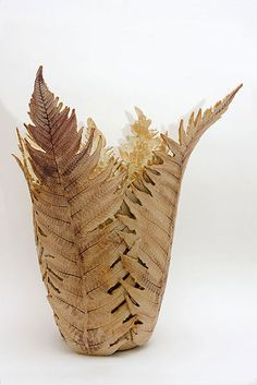 Ceramics by Joan Hardie at Studiopottery.co.uk - 2013. Fern Vase