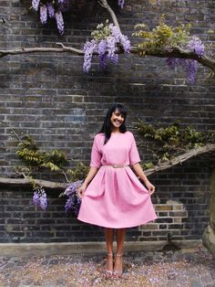 Introducing our newest PDF sewing pattern - The Zeena Dress! – By Hand London