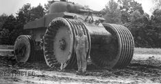 The Second World War saw massive numbers of armored vehicles deployed on all sides. While most were tanks, artillery, and transports, there were also lots Us Army Vehicles, Armored Vehicles, Diorama, D Day Normandy, Funny Tanks, Ww2 Tanks, Military Equipment, Car Engine, Aberdeen