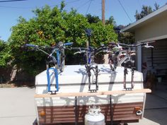 bike rack pop up camper | Thread: Bike rack for pop up trailer