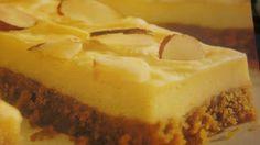 Diabetic Enjoying Food: ALMOND CHEESECAKE BARS