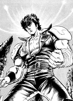 Kenshiro, Fist of the North Star / Hokuto no Ken Comic Books Art, Comic Art, Book Art, Martial Arts Styles, Mecha Anime, Martial Artists, Popular Anime, Manga Artist, Manga Pages