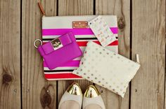 pinky # bags # shoes # beige