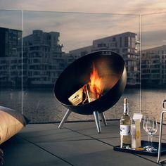 Fancy - Fireglobe Fireplace by Eva Solo