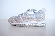 Details about Supreme x Nike Air Max 98 Navy UK9 . Dead Stock
