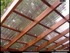 Pergola With Roof Design - Wooden Pergola Architecture - Pergola De Madera Blanca - Fabrication Pergola Bioclimatique Diy Pergola, Pergola Decorations, Small Pergola, Pergola Swing, Metal Pergola, Deck With Pergola, Cheap Pergola, Backyard Pergola, Pergola Shade