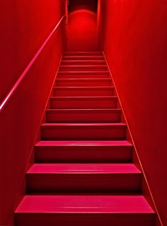 "500px / Photo ""Escalier rouge"" by Claude ROZIER-CHABERT - LARGE PHOTO"