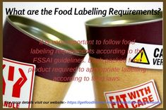 Food Labelling is one of the inherent components of public nutrition. It acts as one of the major links between the food packer or manufac. Food License, Food Labels, Nutrition, Website